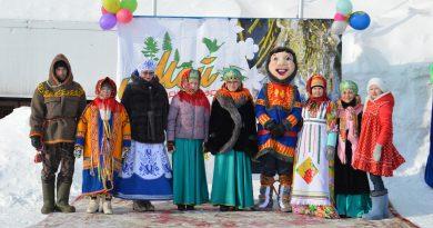 18 марта 2018 года в с. Шурышкары прошло народное гулянье «Мой Шурышкарский – встречаем весну!»