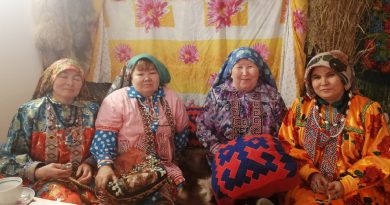 СК Казым-Мыс прошел вечер отдыха для населения «Как не любить мне эту землю».