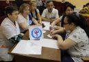 СК Лопхари состоялась интеллектуальная игра между коллективами организаций МО «Лопхаринское»